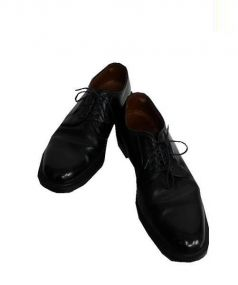 ALDEN(オールデン)の古着「プレーントゥシューズ」 ブラック