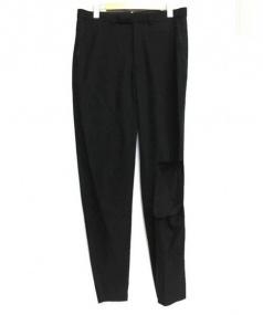 BED J.W FORD(ベッドフォード)の古着「Broken Trousers」 ブラック