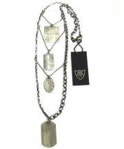 HTC(エイチティーシー)の古着「military necklace ミリタリーネックレス」|シルバーカラー