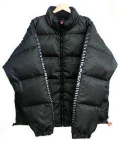SUPREME(シュプリーム)の古着「sleeve logo puffy jacket」|ブラック