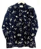 RUDE GALLERY BLACK REBEL(ルードギャラリーブラックレーベル)の古着「コーデュロイシャツ」 ブラック
