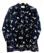 RUDE GALLERY BLACK REBEL(ルードギャラリー ブラックレーベル)の古着「コーデュロイシャツ」 ブラック