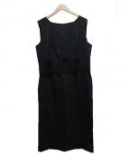 D&G(ドルチェ&ガッパーナ)の古着「ノースリーブワンピース」|ブラック