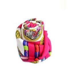 HERMES(エルメス)の古着「スカーフ」|ピンク