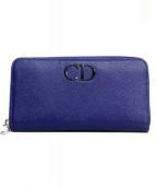 Christian Dior(クリスチャン ディオール)の古着「長財布」 ブルー