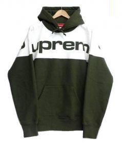 SUPREME(シュプリーム)の古着「locked hooded sweatshirt」 オリーブ