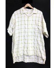 Y's for men(ワイズフォーメン)の古着「オープンカラーシャツ」|イエロー