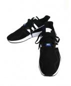adidas(アディダス)の古着「ローカットスニーカー」|ブラック×ブルー