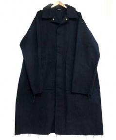 UNUSED(アンユーズド)の古着「Cut Off Duck Coat」|ネイビー