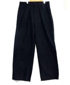 UNUSED(アンユーズド)の古着「Duck wide pants」 ネイビー