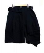 BED J.W FORD(ベッドフォード)の古着「Broken Shorts.」|ブラック