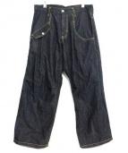 Ys(ワイズ)の古着「ワイドパンツ」 インディゴ