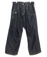 Ys(ワイズ)の古着「ワイドパンツ」|インディゴ
