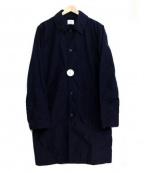 save khaki united(セーブカーキユナイテッド)の古着「綿麻シングルコート」