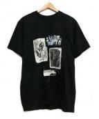 misbhv(ミスビヘイブ)の古着「PATCHWORK T-SHIRTS」|ブラック