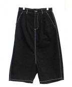 COMME des GARCONS SHIRT(コムデギャルソン・シャツ)の古着「サルエルパンツ」|ブラック