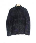 Needles Sportswear(ニードルズスポーツウェア)の古着「フリースジャケット」|パープル