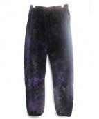 Needles Sportswear(ニードルズスポーツウェア)の古着「フリースパンツ」|パープル