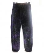 Needles sportswear(ニードルズスポーツウェア)の古着「フリースパンツ」 パープル