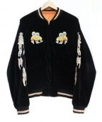 JELADO(ジェラード)の古着「スカジャン」 ブラック