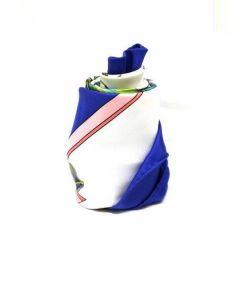 HERMES(エルメス)の古着「スカーフ」|ブルー