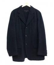 COMME des GARCONS HOMME(コムデギャルソンオム)の古着「ウールテーラードジャケット」 ネイビー