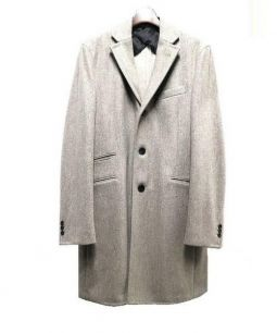 BOGLIOLI(ボリオリ)の古着「チェスターコート」|ベージュ