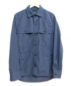 save khaki united(セーブカーキユナイテッド)の古着「SKU CAMP SHIRT JACKET」|ブルー