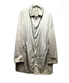 ASPESI(アスペジ)の古着「ステンカラーコート」|ベージュ