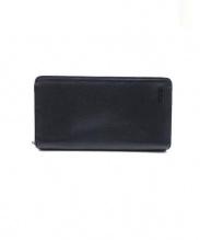 TUMI(トゥミ)の古着「ラウンドファスナー財布」|ブラック