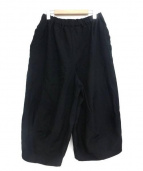 BLACK COMME des GARCONS(ブラックコムデギャルソン)の古着「ワイドパンツ」|ブラック
