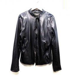 SISII(シシ)の古着「レザージャケット」 ブラック