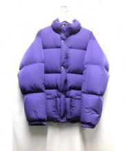 BEAUTY&YOUTH(ビューティアンドユース)の古着「ダウンジャケット」|パープル