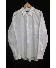 COMME des GARCONS HOMME DEUX(コムデギャルソンオムドゥ)の古着「シャツ」|ホワイト