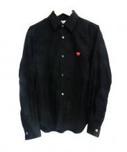 PLAY COMME des GARCONS(プレイコムデギャルソン)の古着「シャツ」|ブラック
