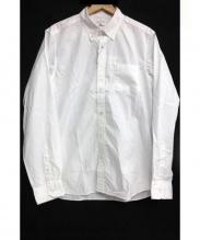 uniform experiment(ユニフォームエクスペリメント)の古着「ボタンダウンシャツ」|ホワイト