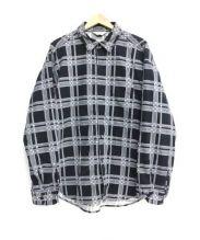 UNUSED(アンユーズド)の古着「ネルシャツ」|ブラック×グレー