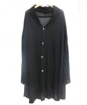 syte(サイト)の古着「30/2 Rayon jersey Drape cardig」|ブラック