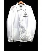 VOTE MAKE NEW CLOTHES(ヴォートメイクニュークローズ)の古着「コーチジャケット」|ホワイト