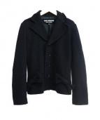 JUNYA WATANABE CDG(ジュンヤワタナベ コムデギャルソン)の古着「ニットジャケット」|ブラック