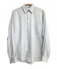 AURALEE(オーラリー)の古着「ビッグシャツ」|ライトブルー