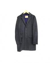 Traditional Weatherwear(トラディショナルウェザーウェア)の古着「チェスターコート」|グレー