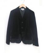 robe de chambre COMME des GARCONS(ローブドシャンブル コムデギャルソン)の古着「デザインテーラードジャケット」 ブラック