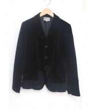 robe de chambre COMME des GARCONS(ローブドシャンブル コムデギャルソン)の古着「デザインテーラードジャケット」|ブラック