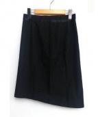 Martin Margiela(マルタンマルジェラ)の古着「タイトスカート」|ブラック