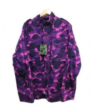 BAPE×UNDEFEATED(ベイプ×アンディフィーテッド)の古着「UNDEFEATED ABC M-65 M JACKET」|ピンク