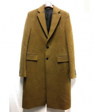 RAF SIMONS(ラフシモンズ)の古着「SENIOR COAT」|ブラウン