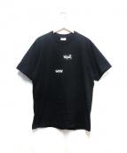 SUPREME×COMME des GARCONS SHIRT(シュプリーム×コムデギャルソンシャツ)の古着「SPLIT BOX LOGO TEE」|ブラック