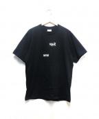 Supreme×COMME des GARCONS SHIRT(シュプリーム × コムデギャルソンシャツ)の古着「SPLIT BOX LOGO TEE」 ブラック