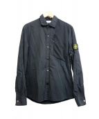 STONE ISLAND(ストーンアイランド)の古着「シャツジャケット」 ブラック